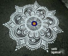 Simple Rangoli Border Designs, Rangoli Simple, Indian Rangoli Designs, Rangoli Designs Latest, Rangoli Designs Flower, Free Hand Rangoli Design, Small Rangoli Design, Rangoli Patterns, Colorful Rangoli Designs