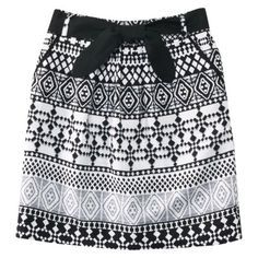 Mossimo® Petites Skirt with Belt