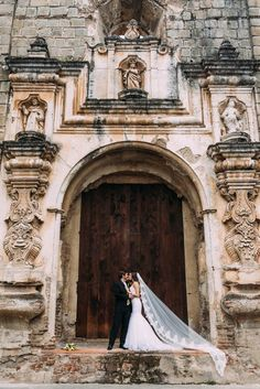 You're Going to Want to Book a Ticket to Guatemala After Seeing This Antigua Wedding Shoot | Sean Carr Photography