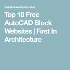 Start reading autocad architecture 2015 my first project metric top 10 free autocad block websites fandeluxe Image collections