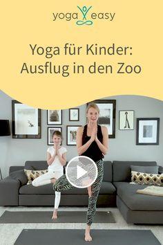 Yoga For Kids, Exercise For Kids, Yin Yoga, Yoga Meditation, Toddler Yoga, Easy Yoga, Yoga Video, Go Fit, Qigong