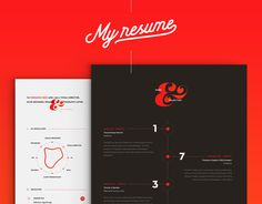 Consultez ce projet @Behance : « My new Resume/CV » https://www.behance.net/gallery/43258629/My-new-ResumeCV