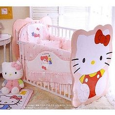 Hello Kitty baby crib - Amazing!