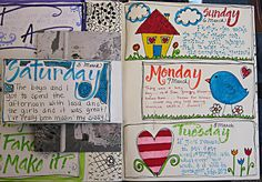 daily- more on Flickr  Originally pinned by Julie Shahin onto Art Journaling Luv xoxo.