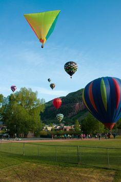 29th annual #Telluride Balloon Festival!