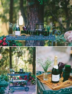 Vintage Woodland Wedding Inspiration