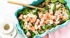 Enkle og lette middager du lager i en fei! Halloumi, Tzatziki, Fresh Rolls, Mozzarella, Parmesan, Pesto, Seafood, Protein, Food And Drink
