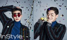 Park Seo Joon | InStyle December Issue '15