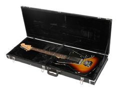 Gator GWEJAG Jaguar Style Electric Guitar Case by Gator. $89.99. The Gator GW-JAG is a traditional plywood guitar case built specifically for Jaguar and Jagmaster guitars. The plus lined foam padded interior keeps your guitar safe while you travel to the gig and the ergonomically designed padded handle is easy on your hand. The GW-JAG is lockable and the hardware is triple chrome-plated.. Save 38%!