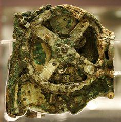 Ciencia -Fragmento de 2,100 años de antigüedad 'Mecanismo de Antikythera, descubierta en naufragio en Grecia en 1900