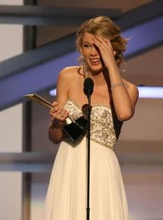 Taylor Swift at the 43rd Academy of Country Music Awards (2008)