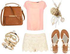 Lace Shorts: Class/Daytime