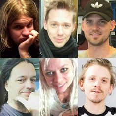 Henke Palm, Tobias Forge, Simon Soderberg, Mauro Rubino, Sean, and Martin Hjertstedt. 6 amazing musicians... They are in my heart.