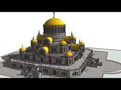 3D модель будущего христианского супер собора