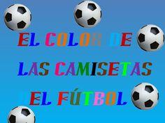El color de las camisetas de fútbol