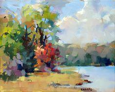 The Start of Fall by Trisha Adams Oil ~ 16 x 20