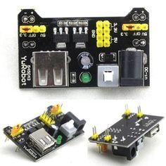 3.3V & 5V Power Supply Module For MB102 Bread Board Arduino Raspberry Pi