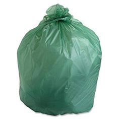 Stout EcoSafe Compostable Trash Bags is engineered specifically for the collection of green bin organic waste disposal and commercial composting. Outdoor Trash Cans, House Insects, Green Bin, Compost Bags, Yard Waste, Waste Disposal, Garden Guide, Trash Bag, Pest Control