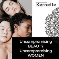 Uncompromising BEAUTY - Uncompromising WOMEN      #women #beauty #kernelle    📍www.kernelle.com Beauty, Women, Beauty Illustration, Woman