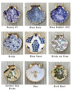 Sea Crafts, Diy Resin Crafts, Jewelry Crafts, Oyster Shell Crafts, Oyster Shells, Seashell Art, Seashell Crafts, Scallop Shells, Shell Decorations