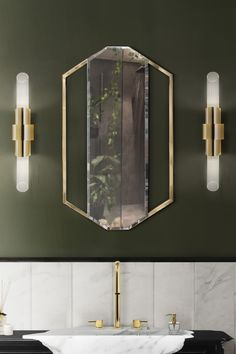Made out of Cornered Polished Brass this mirror is a versatile piece for luxury bathrooms. It can be displayed in both vertical or horizontal orientation. Contemporary Bathroom Designs, Bathroom Design Luxury, Modern Bathroom, Luxury Bathrooms, Small Bathrooms, Contemporary Decor, Amazing Bathrooms, Bathroom Inspiration, Interior Design Inspiration