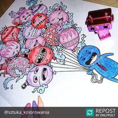 #Repost @sztuka_kolorowania  Oh hi! #inwazjabazgrolow #kolorowanka #sztukakolorowania #koloruje #zifflin #zifflindoodle #coloringaddict #art #kredki #doodleinvasion #inwazjabazgrołów #kolorowanie #doodle #colorful #kolorowanki #kolorowo #coloringbook #kolorowankadladoroslych #kolorowankadladorosłych #colorfull #color #colouring #bazgroly #sztukakolorowania #colouringpages #colouringforadults #kolorowaniedladorosłych