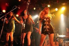 Jenny Lewis with the Watson Twins. Will love always and forever. #music #jennylewis
