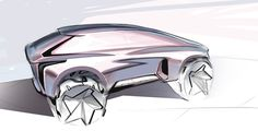 volkswagen concept sketch on Behance