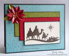 Come_to_Bethlehem  Love the Poinsettia embellishment