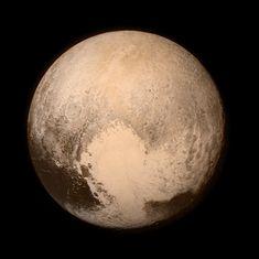 Er is weer een nieuwe foto van Pluto!! Prachtig, hier gaat ons hart sneller van kloppen. #PLUTOopNGC