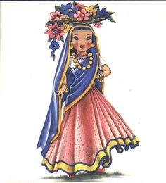 Hallmark Dolls of Many Lands - India