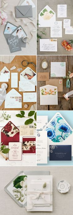 So what's coming up in the world of wedding invitations? Wedding invitations have never been more beautiful, as designers are offering creative designs on luxury papers, turning each card into a personalized work of art. 2016 invitation trends focus on the personality of each celebration, from iconic illustration, personalized liners, unique colors, to modern patterns, …