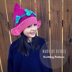 Poppy Troll Hat pattern by MadeByDevrie 1126b90753e