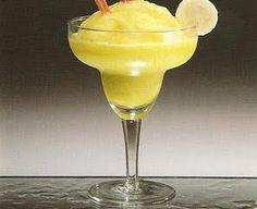 Cocktail Daiquirí Frozen de Banana