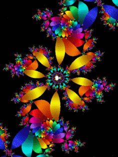 everyday a different color, beautiful gifs, soft goth, nature. images that I like and attract my attention. I hope you'll find images here for your taste too. Beautiful Gif, Beautiful Flowers, Les Gifs, Butterfly Wallpaper, Hippie Art, Glitter Graphics, Gif Pictures, Fractal Art, Wallpaper Backgrounds