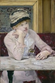 Plum Brandy, ca. 1877, by Édouard Manet