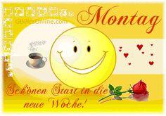 Good Morning Coffee, Good Morning Gif, Monday Greetings, Motivation, Gifs, Image Title, Smileys, Allah, Humor