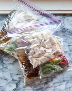 Freezer stir-fry dinner kits
