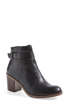 Halogen®  Glenna  Leather Ankle Bootie (Women) available at  Nordstrom Fall 4c863be8555e2