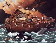 The above Puranic story is similar to the story of Noah's Ark in which God saves Noah. The story of Matsya Avatar predates Noah's Ark which is dated to be around 3000 BCE.