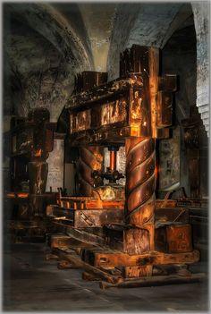 Wine Press - Eberbach Monastery, Germany