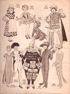 Vintage Sewing Pattern Catalogue – Fancy Dress For Children – Vintage Knitti. - Vintage Sewing Pattern Catalogue – Fancy Dress For Children – Vintage Knitting Pattern Archive - Retro Costume, Vintage Costumes, Historical Costume, Historical Clothing, Vintage Knitting, Vintage Sewing Patterns, New Halloween Costumes, Halloween Inspo, Halloween Scene