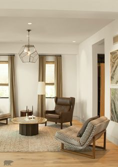 Coat The Walls Of Your Living Room With A Neutral Cream Tone Of BEHR Paint  In