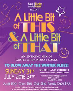 July 2016 - A Song for Everything: A Little Bit of This & a Little Bit of That!