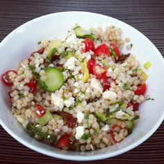 designer bags and dirty diapers: Roasted Vegetable Israeli Couscous