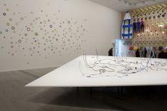 Daniel von Sturmer 'Paradise park' 2013 (detail) with Elizabeth Gower's