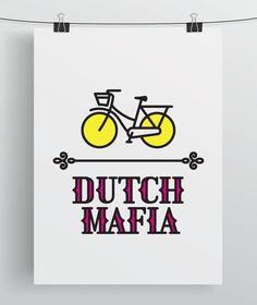 Dutch Mafia by Michael Nÿkamp, via Behance