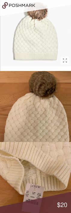 26ae014b5c9e06 NWT JCrew Beanie New with tags. Smoke and pet free home J. Crew Factory