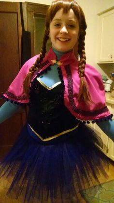 Anna ballet-Frozen cosplay