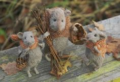 Staffed animals by Natasha Fadeeva.  http://www.fadeeva.com